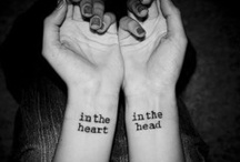 Tattoos<3 / by Brittany Sands