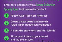 Club Tyson Halloween Promotion