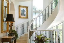 Curved staircase, Straker's
