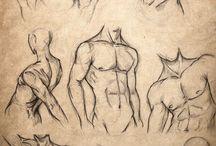 Tegninger kropper