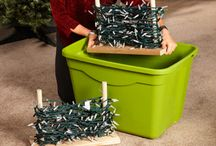Holiday Storage Ideas / Tips and tricks to store your holiday decorations so they are in good shape for next year and can be easily unpacked in a no-fuss way