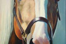 Horse and Unicorn Art
