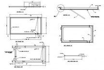 Window CAD blocks / Window CAD models
