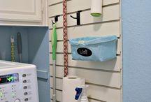 Garage closet\ broom closet
