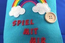 Quiet Book / Spielbücher für Kleinkinder
