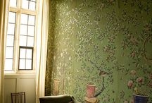 chinoiserie wall paper