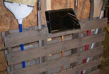 #What to Do With Pallets Skids / Creative DIY ideas for pallets. Often you can find pallets and skids being given away. Check craigslist. Moving companies, furniture outlets, if they have a forklift, odds are they use pallets. Call & ask if they have some they're discarding to find free materials for your project.