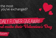 #MakeLoveBloom / We'd love to #MakeLoveBloom this Valentines! For your chance to win a bouquet of flowers for you or your loved one, just tell us what's been the most romantic gift you have shared.  Use #MakeLoveBloom on Twitter or Instagram, or by submitting an entry form via Facebook: http://bit.ly/makelovebloom  Our winners will be showcased here!