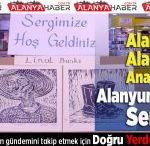 Fevzi Alaettinoğlu Anadolu Lisesi Alanyum AVM'de Sergi Açtı