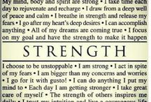 One Little Word 2014: Strength