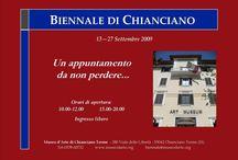 """Biennale Chianciano Terme """"Nuseo d'Arte contemporanea Gagliardi"""" / I Biennale/mostra concorso per collettiva internazionale presso la Gagliardi Galleri London. Anno 2009"""