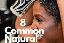 Natural hair hags