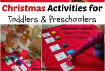 Christmas Activities for Preschoolers / Merry Christmas! Let's have some Christmas family fun with all of the ideas, tips, tricks, and decorations that I've compiled. Looking for more Christmas activities for preschoolers? Follow me here and at HomeschoolPreschool.net