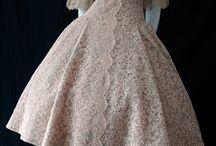 Kleider / Vintage,  Spitze u. Co