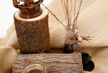 woodsie and baskets. / things made with wood. natural decorating.  / by Jennifer {StudioJRU}