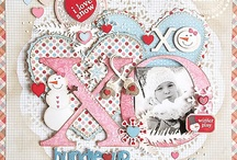 Winter Inspiration / Craft projects and Scrapbook layout inspiration for the cold wintery season / by Stuff4Crafts