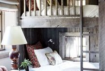 bunk beds / reading nooks