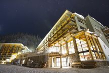 Sunshine Mountain Lodge / The only ski-in, ski-out hotel in Banff National Park located in the heart of the Sunshine Village Ski and Snowboard Resort.