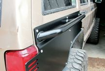 OFF ROAD ARMOR SIDE PLATES