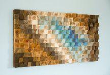 Wood obrazy