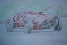 race car drawings / by Richard Ingham