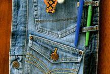 ideas con jeans viejos