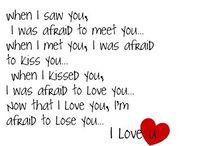 Love.  / All things love. Hopeless romantics only.