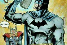 Batman. It's hard to be a Dark Knight