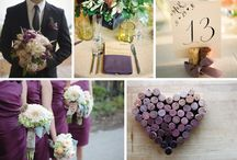 themed wedding: wines & grapes