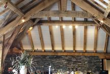 Traditional timber frames / From classic timber frame barn conversions to taking design cues from a Medieval church.