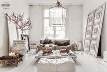 A fabulous white interior