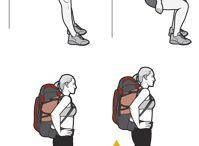 træning for vandretur