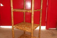 moveis em bambu