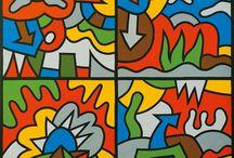 Greek artist =A. Akrithakis 1939-1994-PAVLOS  (Pavlos dionyssopoulos)-Dimosthenis Prodromou-Zefi