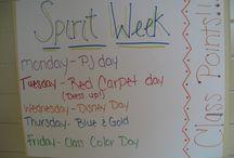School spirit ideas