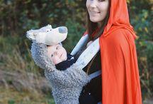 Halloween Babywearing / Why not make babywearing part of your Halloween costume? Check out our pins for some inspiration!