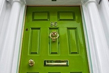 Front Door COLOR / Create an inviting entrance into your home! Don't be afraid to try a bold color. Paint your front door, replace the hard ware & even try painting your house number or mail box for the best results. Share with us your story! / by CertaPro Painters®