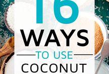 Coconut oil / Haar en huid