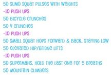Workout challenges.