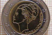 Monedas 2 euros Monaco