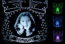 Personalised Night Lights with Photo and Name