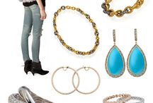 Jewelry in Fashion / Find the perfect jewelry wardrobe to compliment your garments.