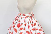 Lolita casual skirt