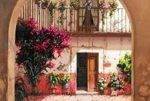 arte en flor