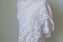 Crocheting - shawls