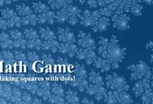 The Dots Math Game at Math-Drills.com.