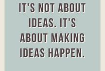 Ideas about Ideas