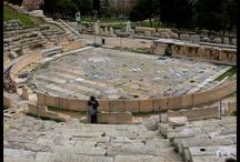 Teatro Griego / En el año 468 a.c. me dí a conocer como autor trágico al vencer a Esquilo en  el concurso teatral que se celebra anualmente en Atenas durante las Grandes Dionisíacas.
