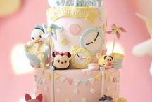 tsumtsum cake