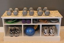 indoor fitness room